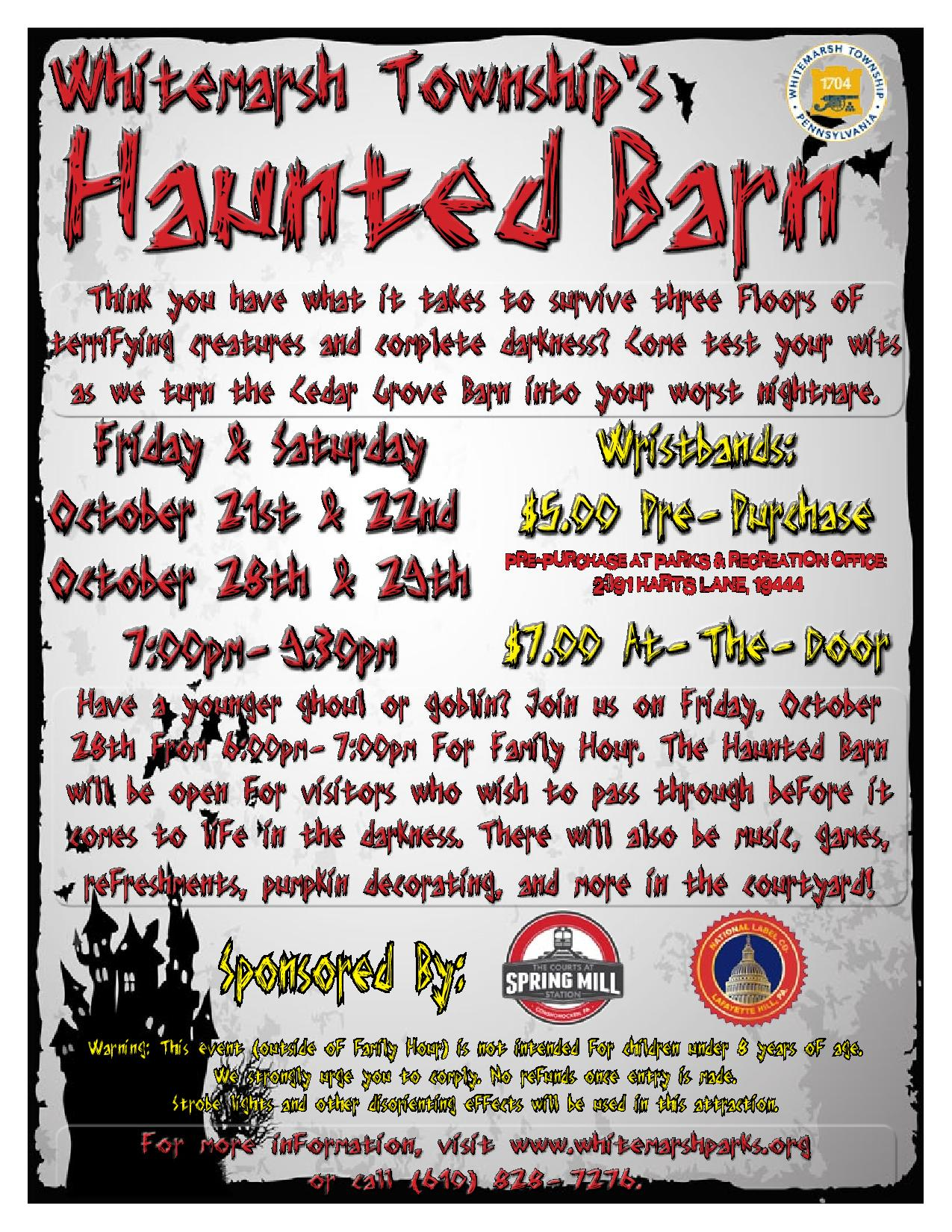 Haunted Barn 2016