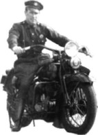 Police Officer on Motorcycle