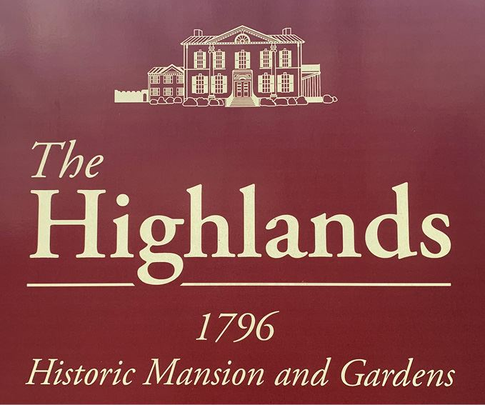 Highlands Mansion and Garden Sign Opens in new window