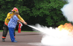 Fire Extinguisher Use Training